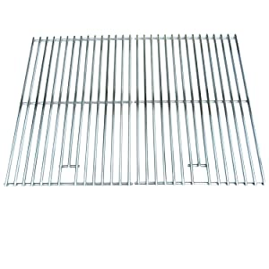 Direct store Parts DS108 Solid Stainless Steel Cooking grids Replacement Brinkmann, Jenn Air, Permasteel, Uberhaus Gas Grill