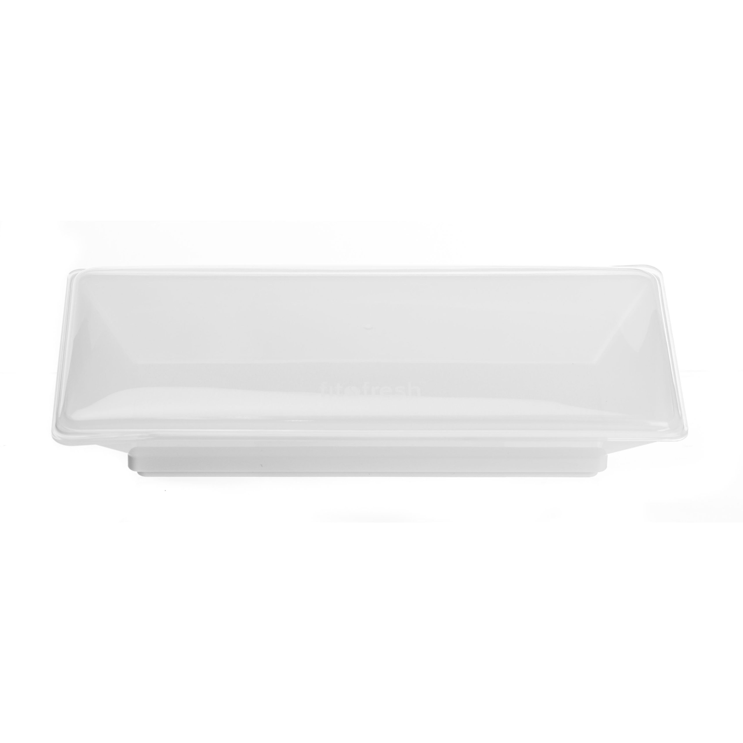 Fit & Fresh Chilled Serving Platter, 56-ounce Capacity Freezable Food Tray with Lid , BPA-Free, Freezer/Microwave Safe, Perfect for Party, Gathering, Food Storage by Fit & Fresh (Image #2)