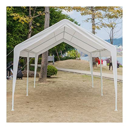huge selection of 18548 fbe98 Amazon.com : 10 x 20 ft Car Port Canopy Gazebo Tent Cover ...