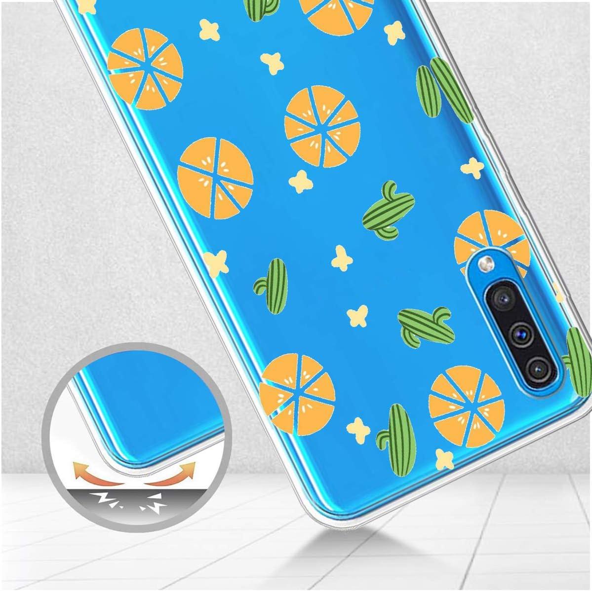 Oihxse Mode Transparent Silicone Case Compatible pour Samsung Galaxy A2 Core Coque Ultra Mince Souple TPU Mignon Animal S/érie Protection de Housse Anti-Scrach Bumper Etui Renard