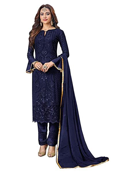 Amazon.com: Ropa india Salwar Kameez Anarkali Party wear ...