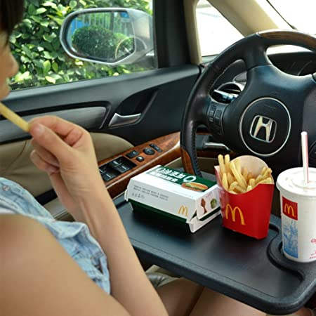 Car Laptop Food Steering Wheel Tray Auto