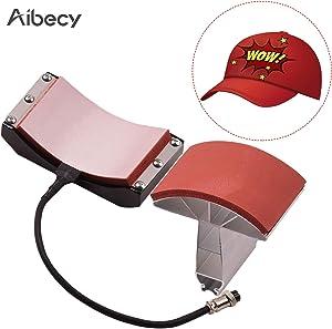 homese Hat Cap Press Mat Pad Heating Transfer Attachment Silica Gel 5.5x3 Inch 110V for Heat Press Machine Hat Heating Machine Hat Heating Press