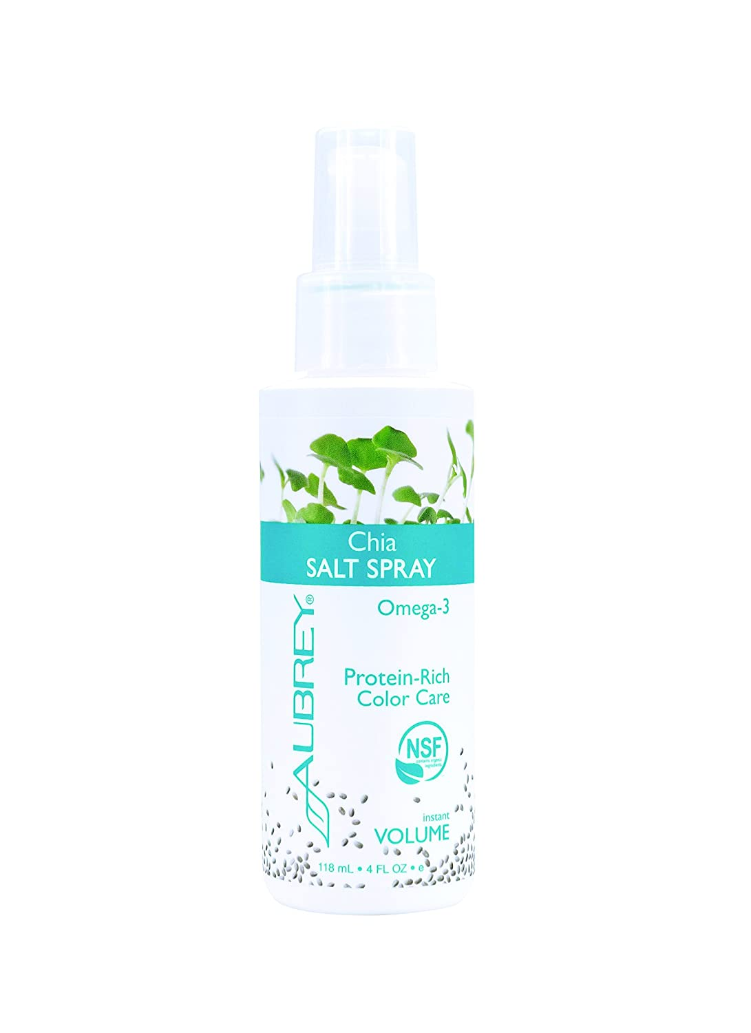 Amazon.com: Aubrey Organics Chia Sal Spray 4 oz nsf orgánico ...