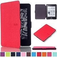 "Amazon Kindle Paperwhite Case Cover–""Ultra Slim çanta kılıf PU Deri Kılıf Flip Cover Case yeni Amazon Kindle Paperwhite için 2015/2014/2013/2012(6inç) kılıfı deri Kindle Paperwhite"