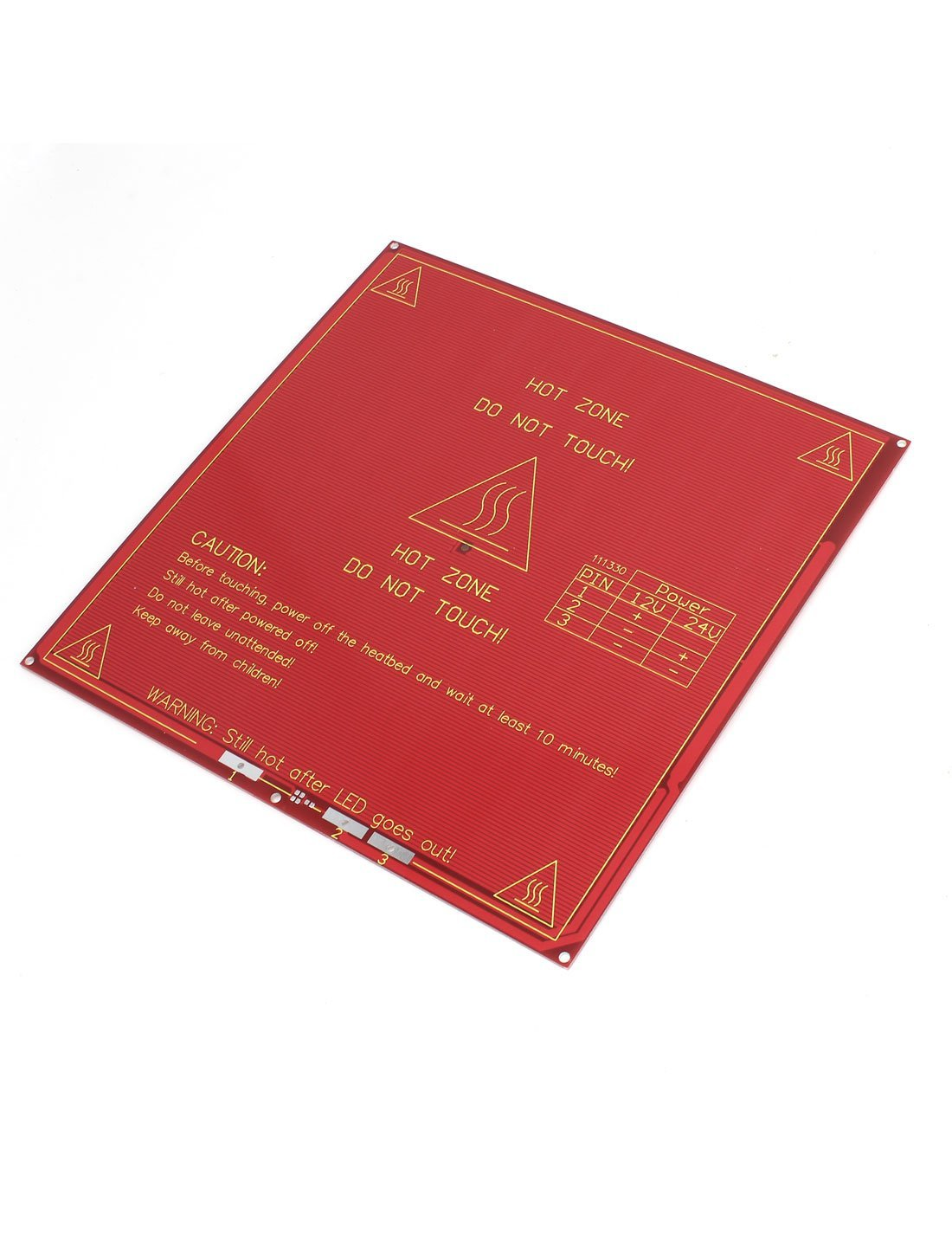 Amazon.com: RepRap Heatbed calor Mk2A cama PCB de la placa ...