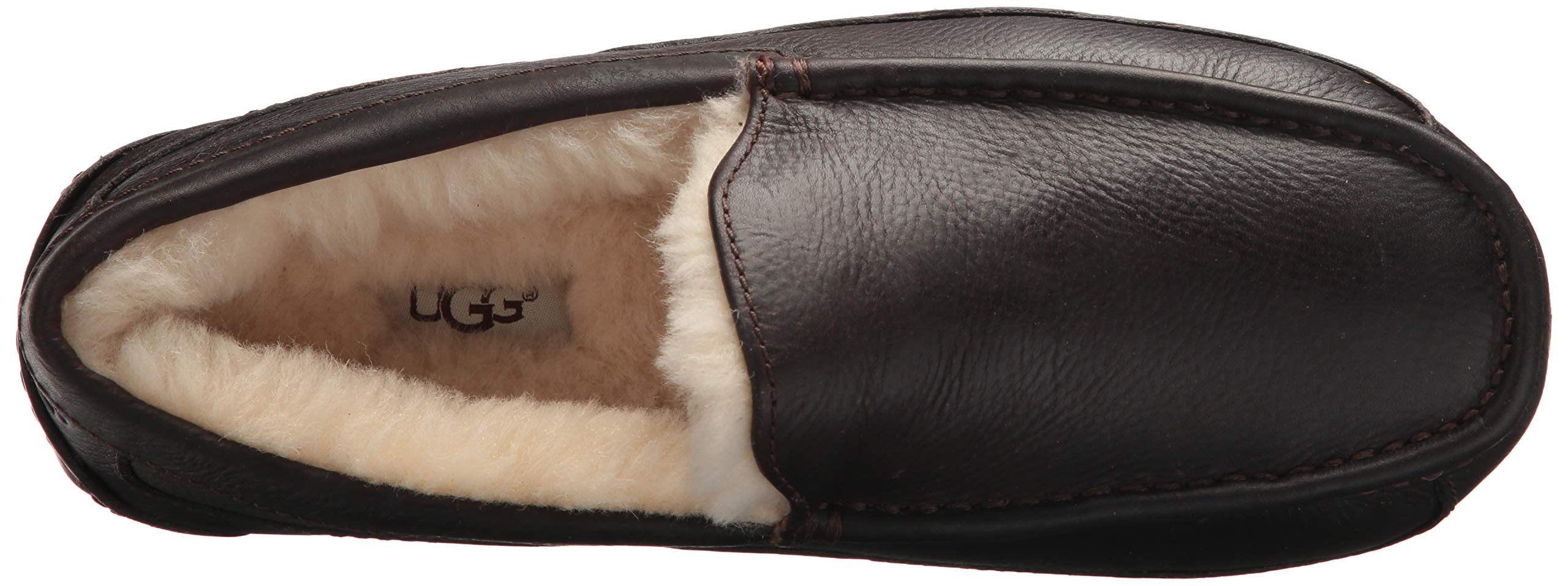 UGG Men's Ascot Slipper, China Tea Leather, 15 M US by UGG (Image #9)