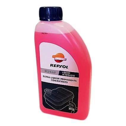Anticongelante Repsol Rojo Extra Concentrado 1lt