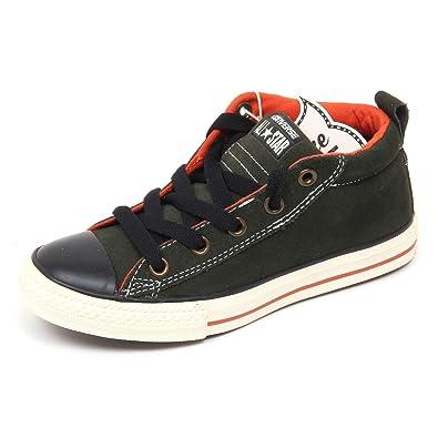 3cd579ec16db7 ... discount code for d2988 sneaker bimbo converse all star scarpe verde  nero shoe kid green 29