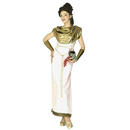 WIDMANN Widman - Disfraz de diosa romana para mujer, talla S