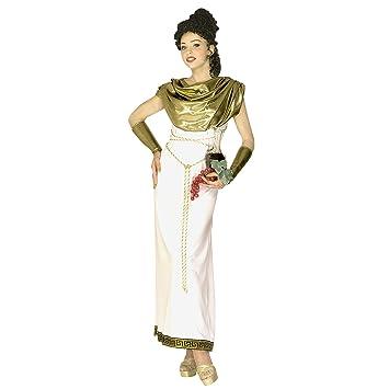 WIDMANN Widman - Disfraz de diosa romana para mujer, talla L ...