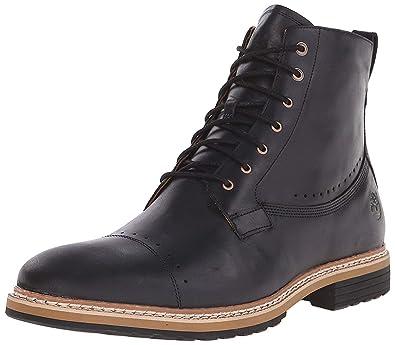 Timberland Men's West Haven 6 Side Zip Boot, Black Full