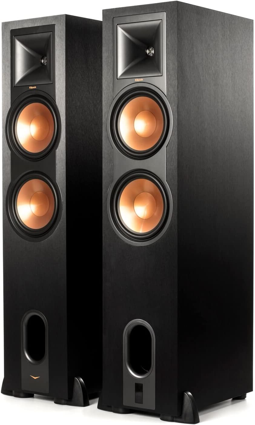 Amazon Com Klipsch R 28pf Powered Floorstanding Speaker Pair