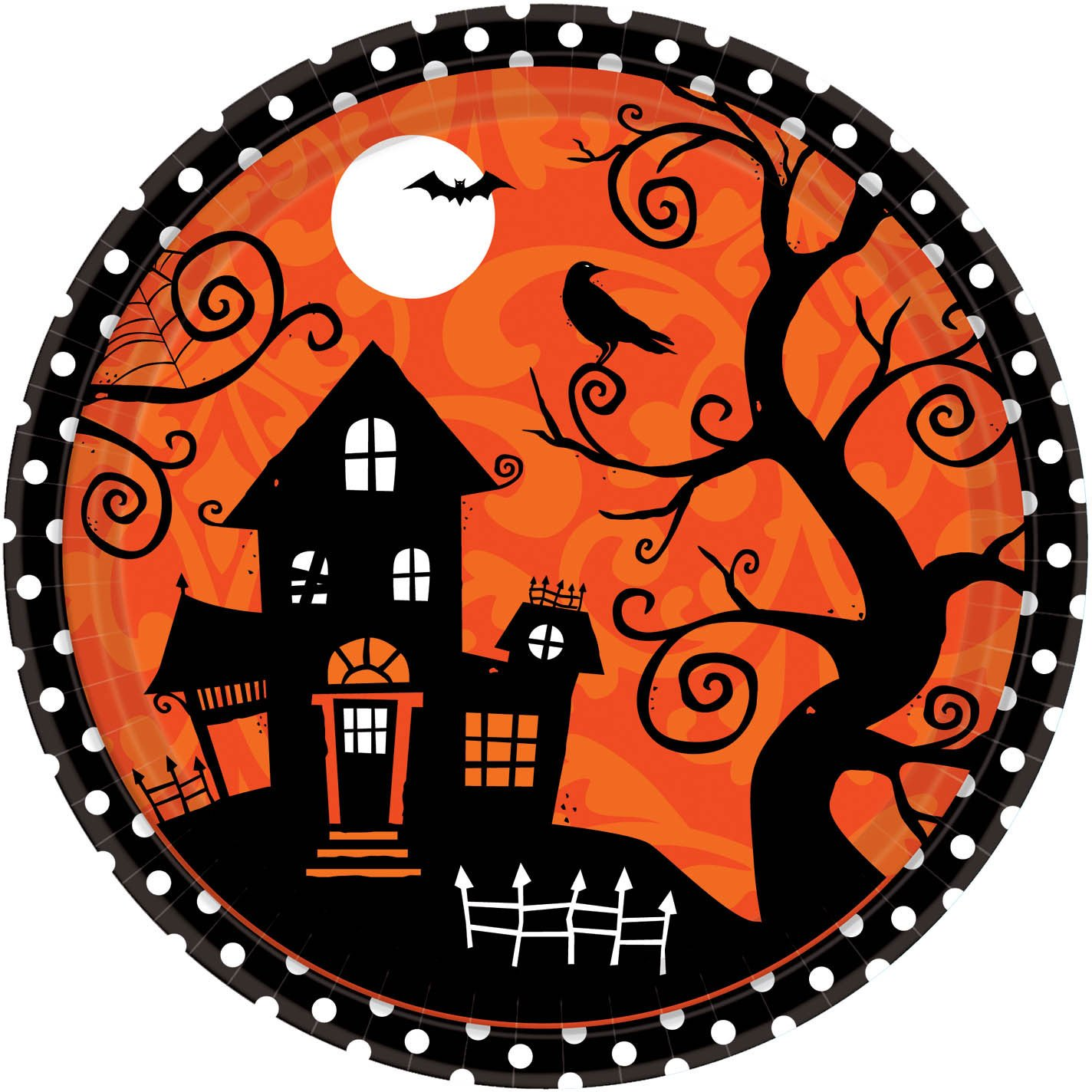 Amazon.com Frightfully Fancy Halloween Banquet Dinner Plates by CoolGlow Toys \u0026 Games  sc 1 st  Amazon.com & Amazon.com: Frightfully Fancy Halloween Banquet Dinner Plates by ...