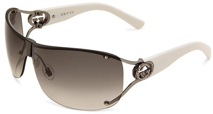 Gucci - Gafas de sol - para mujer transparente transparente ...