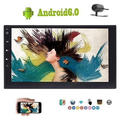 FoIIoE - Cámara de seguridad para coche, estéreo, Android 6.0, marshmallow de 7