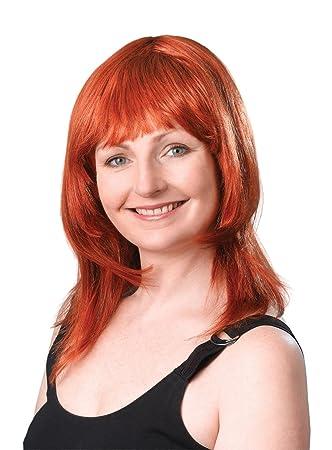 Bristol Novelty BW083 Layered Female Ginger Wig eeba6a8fb