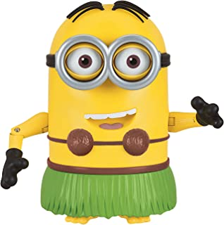 despicable me talking hula minion dave toy figure - Minions Christmas Song