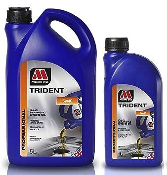 Millers Oil Trident 5W40 - Aceite de Motor (6 L)