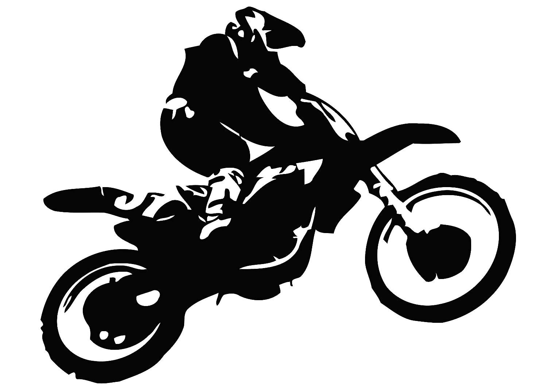 Motocross dirt bike decal motocross biker decal motocross bike sticker dirt bike stickers motocross wall art dirt bike decal motocross sticker