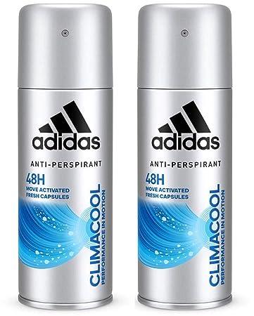 adidas Climacool Deospray – Antitranspirant Deo mit frischem Duft und  langanhaltendem Schutz vor Schweiß, 2er Pack (2 x 250 ml)