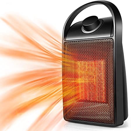 Space Heater 2020 Upgraded Portable Quiet Cer