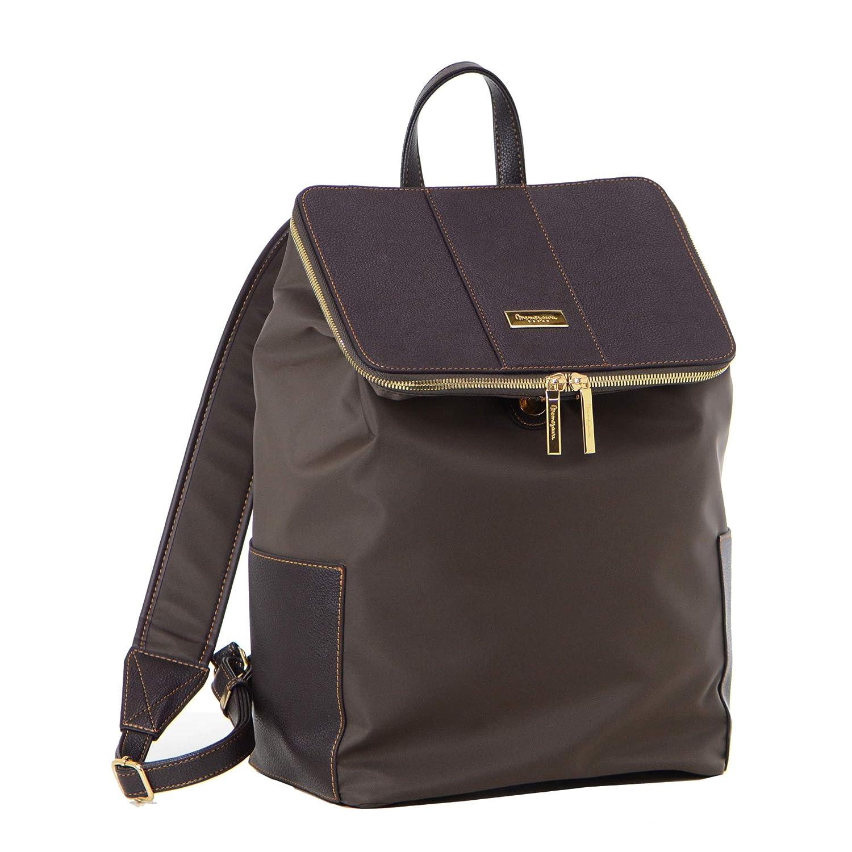 [目々澤鞄] memezawa kaban ビジネスバッグ レディース リュック 大容量 出張 1412538  チョコ(43) B07LCG8KQM