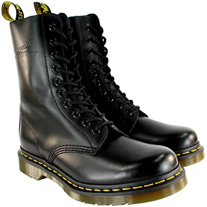 ae06069d668b Amazon.com  Dr. Martens Mens Classic 1490 Black Vintage Leather Lace Up  Boots - Black - 13  Toys   Games