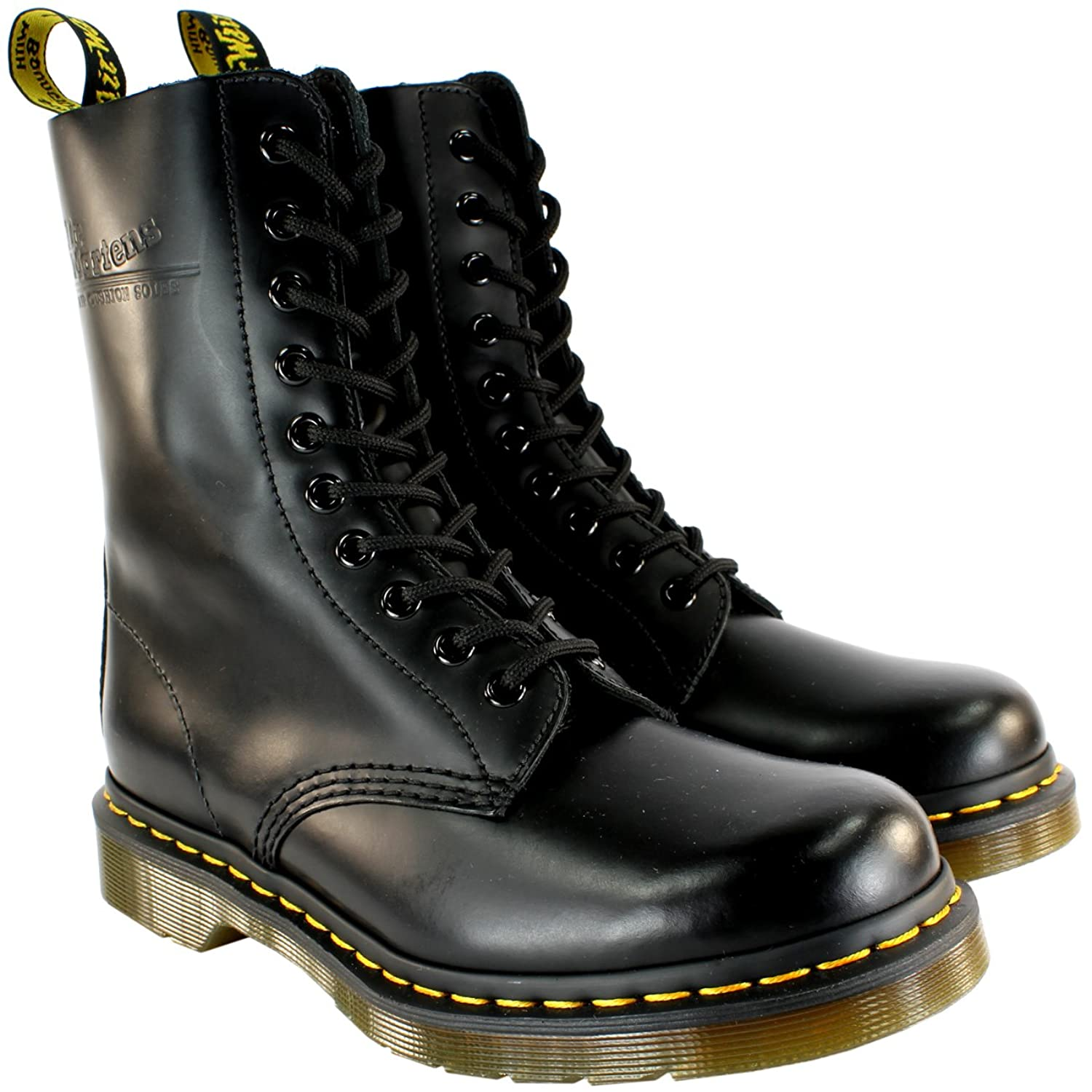 Womens Dr Martens 1490 Classic Lace Up Leather Military Ankle Boot 5-10