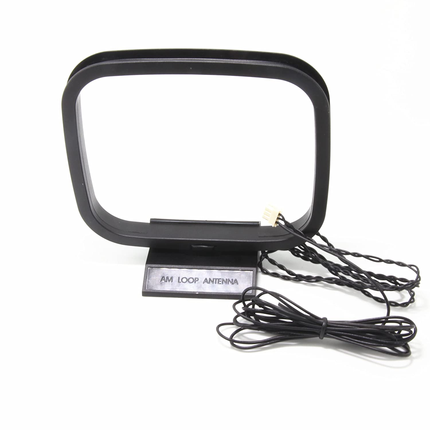 Ancable Fm And Am Loop Antenna With 3 Pin Mini Connector 6 X For Sony Sharp Stereo Av Receiver Systems Electronics
