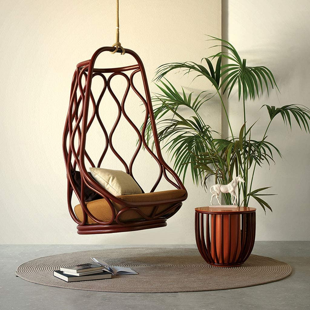 bedroom swing basket chair spanish style