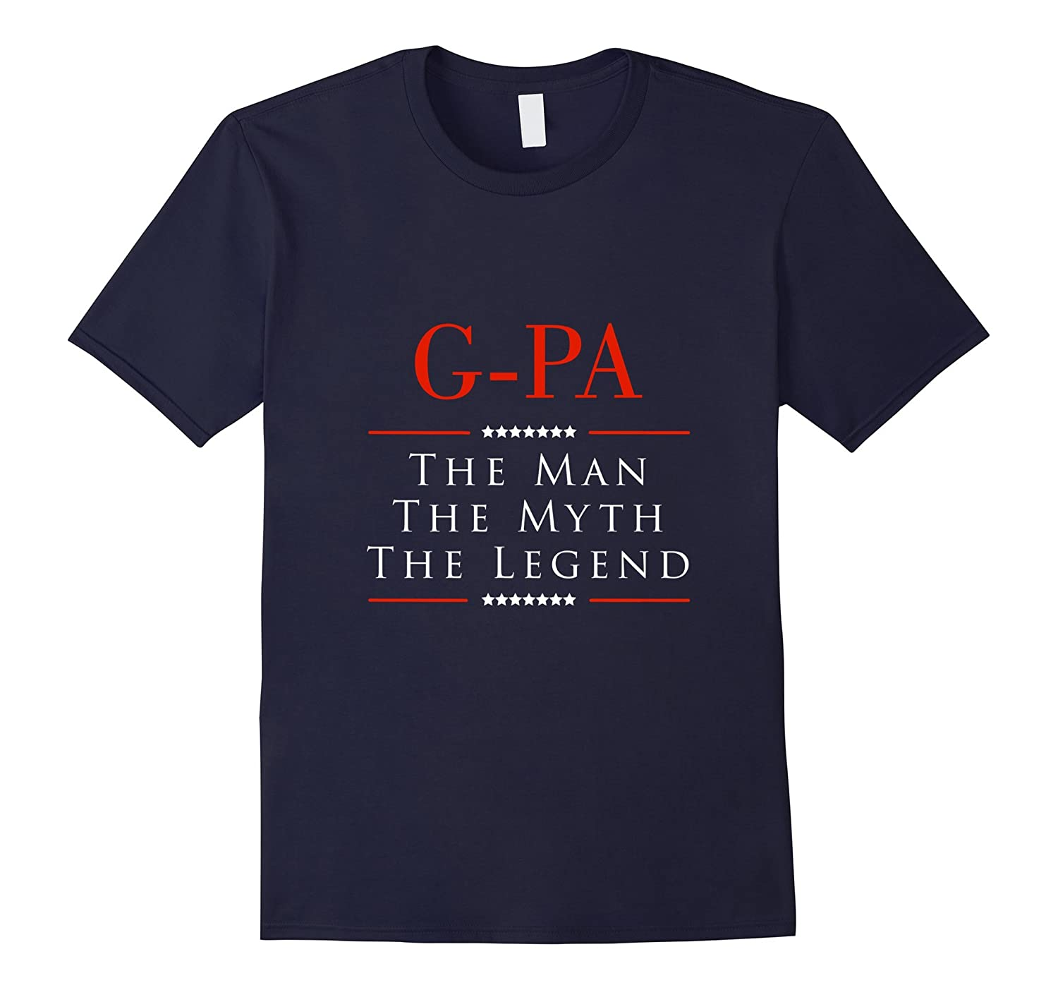 G-PA The Man The Myth The Legend Great Gift for G-PA Tshirt-TH