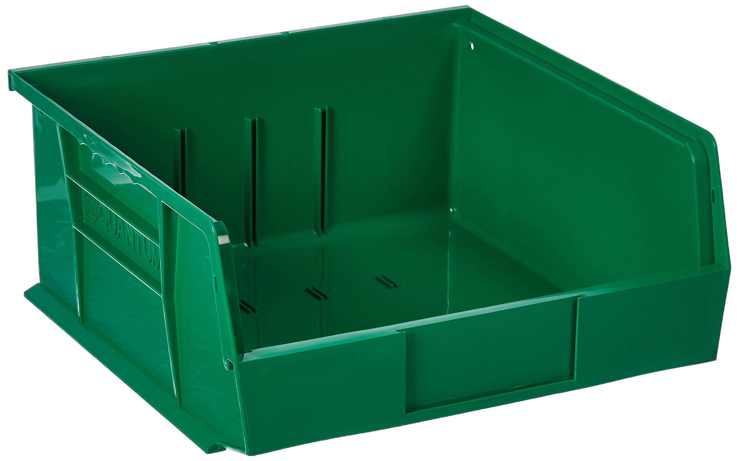 Quantum Storage Systems Hang/Stack Bin, 10-7/8L X 11W, Green by Quantum Storage Systems