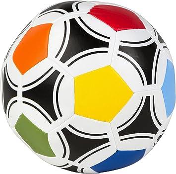 Color Baby 43378 - Balón futbol de fibra, 16 cm: Amazon.es ...