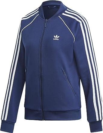 adidas Damen SST TT Jacket, rot (gratra), 36: Sport & Freizeit
