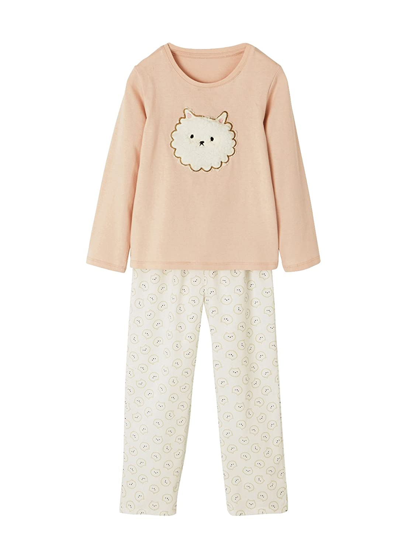 Vertbaudet Mä dchen-Pyjama, Materialmix