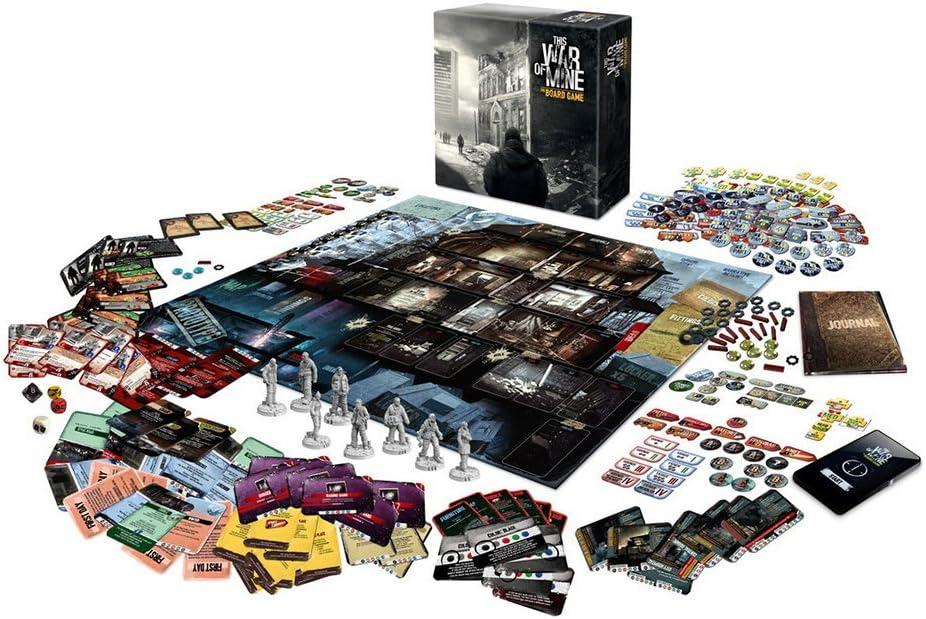 This War of Mine Juego de Mesa GAKTWOM01: Amazon.es: Juguetes y juegos