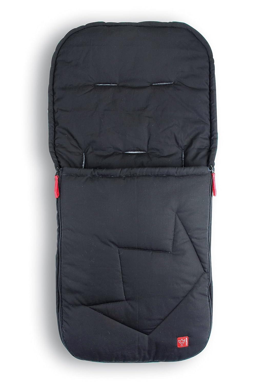 Kaiser 65727-24 Ammy - Saco de abrigo de verano para cochecito de bebé, color gris oscuro 6572724