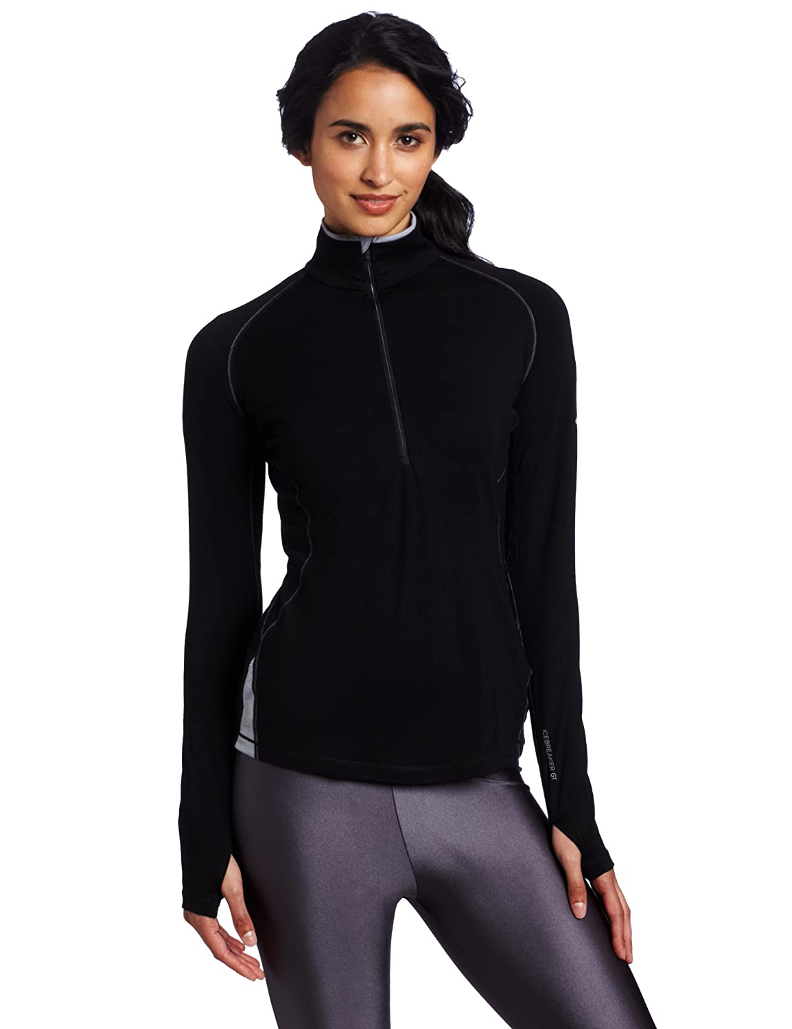 Icebreaker Damen Shirt GT260 Long Sleeve Express Zip