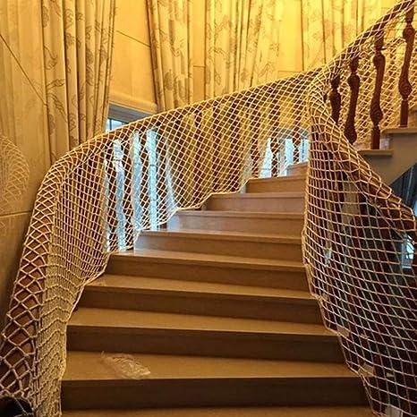 Red De Seguridad Blanca, Red De Seguridad De Construcción, Malla De Nylon, Escaleras for Niños, Red De Protección, Balcón, Red De Protección, Aislamiento, Protección Contra Caídas, Red Contra Gatos: Amazon.es: Deportes y