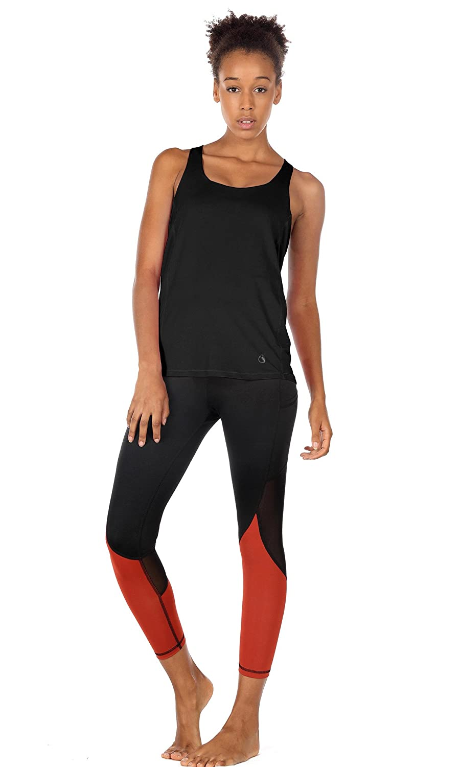 icyzone Yoga Tops Workouts Clothes Activewear Built in Bra Tank Tops for  Women at Amazon Women's Clothing store: