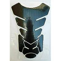 Protector para depósito, aspecto de carbono, negro, universal