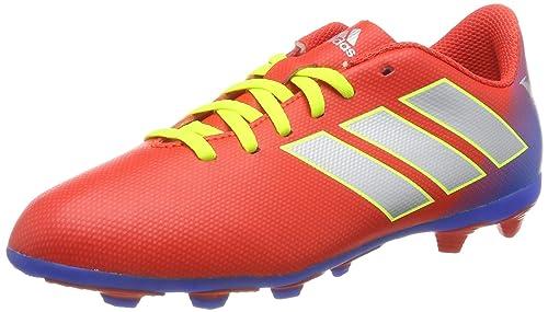 Zapatilla Adidas Fútbol Messi Niño Nemeziz 18.4 Tf Roja