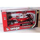 burago 2016 release SF16 H Ferrari F1 S vettel car 1.43 scale Diecast model