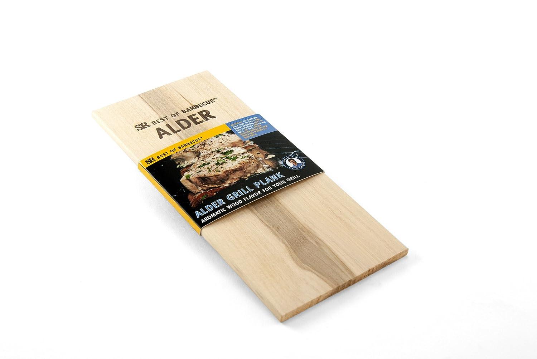 Steven Raichlen Best of Barbecue SR8162 Wood Grilling Plank, Single, Alder