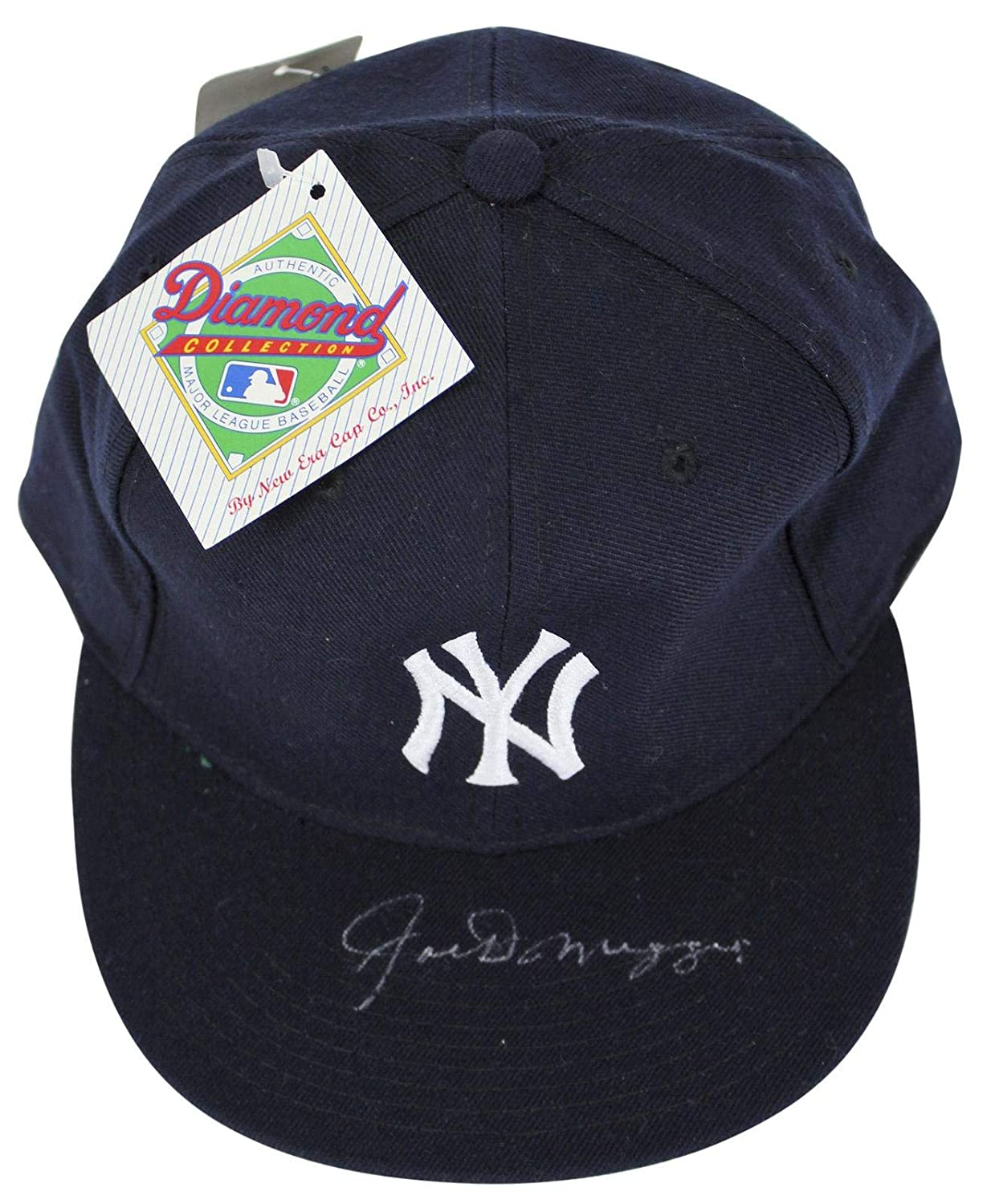 99acfa34f6a Yankees Joe DiMaggio Signed New Era Size 7.5 Hat  Z37700 - JSA Certified -  Autographed Hats at Amazon s Sports Collectibles Store