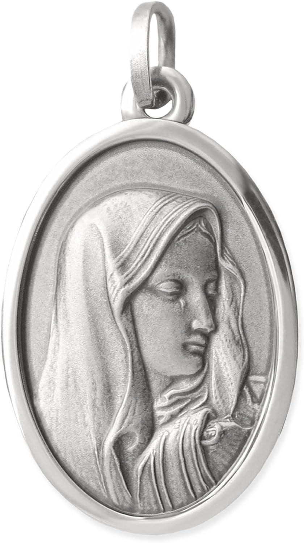 Viennagold Pendentif avec repr/ésentation de la sainte-vierge Marie
