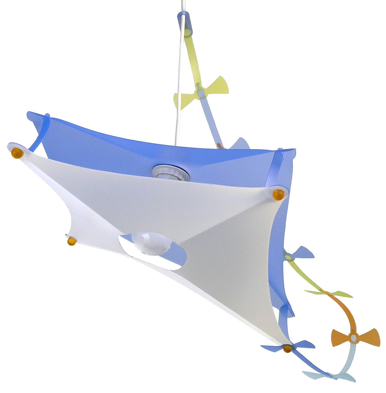 R&M Coudert Lampe de Plafond Suspension Chambre Enfant Cerf Volant