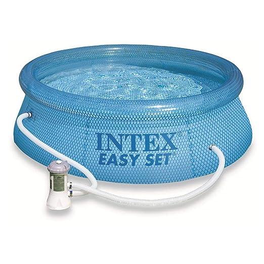 Intex Easy Set Piscina con Depuradora: Amazon.es: Jardín
