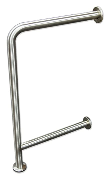 Amazon.com: Wall to Floor Grab Bar for Drinking Fountains: Home ...